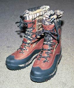 Охотничья обувь.  Тестируем ботинки для зимы.